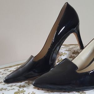 Boden Black Patent Leather Heels LIKE NEW